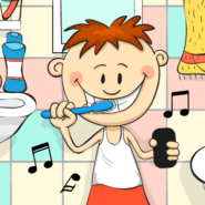 Motivate Your Kids to Brush with the Brush DJ App