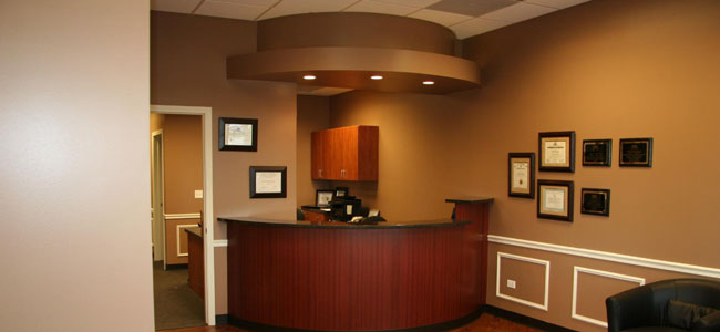 The office of our Dentist in Shorewood, Dr. Mike Lakota