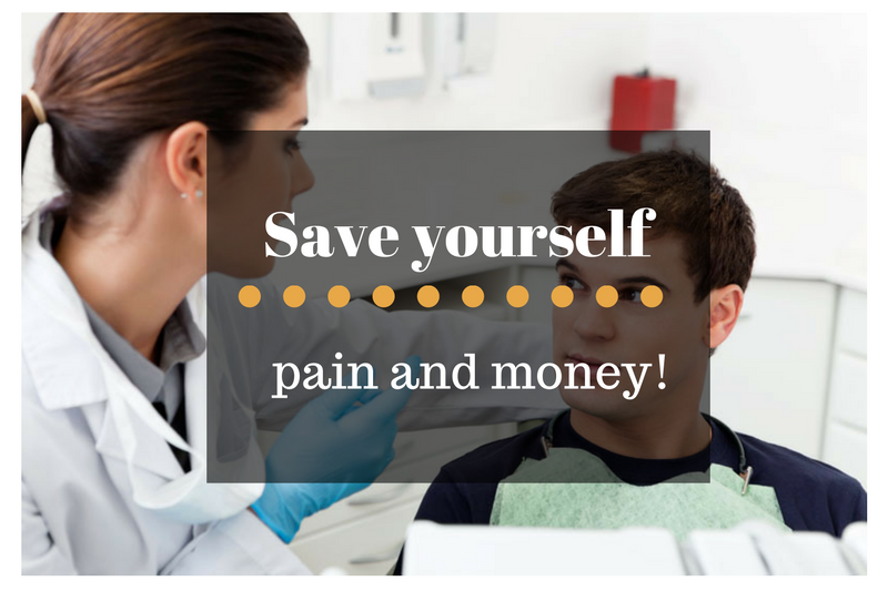 Save yourself pain and money with comprehensive dentistry in Naperville.