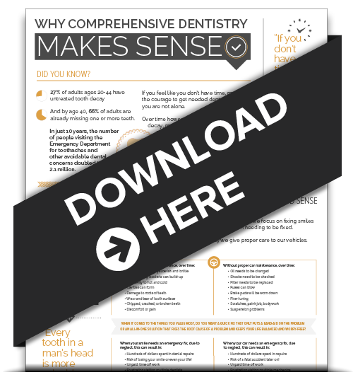 comprehensive dentistry infographic